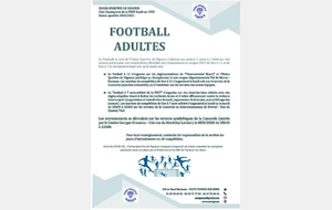 FOOTBALL ADULTES