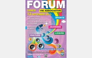 Forum vie associative, jeunesse, sports, loisirs et culture